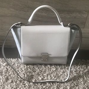 Zara trapeze handbag never used